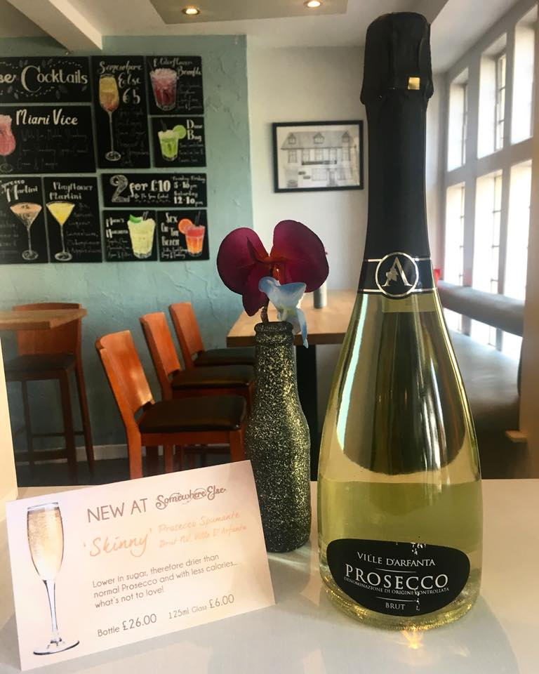 Fizzy FRiday - To celebrate the end of the week , we offer £10 off Prosecco. Come in with your work colleagues for an afterwork drink or meet friends later in the evening.We even have a 'skinny' Prosecco!