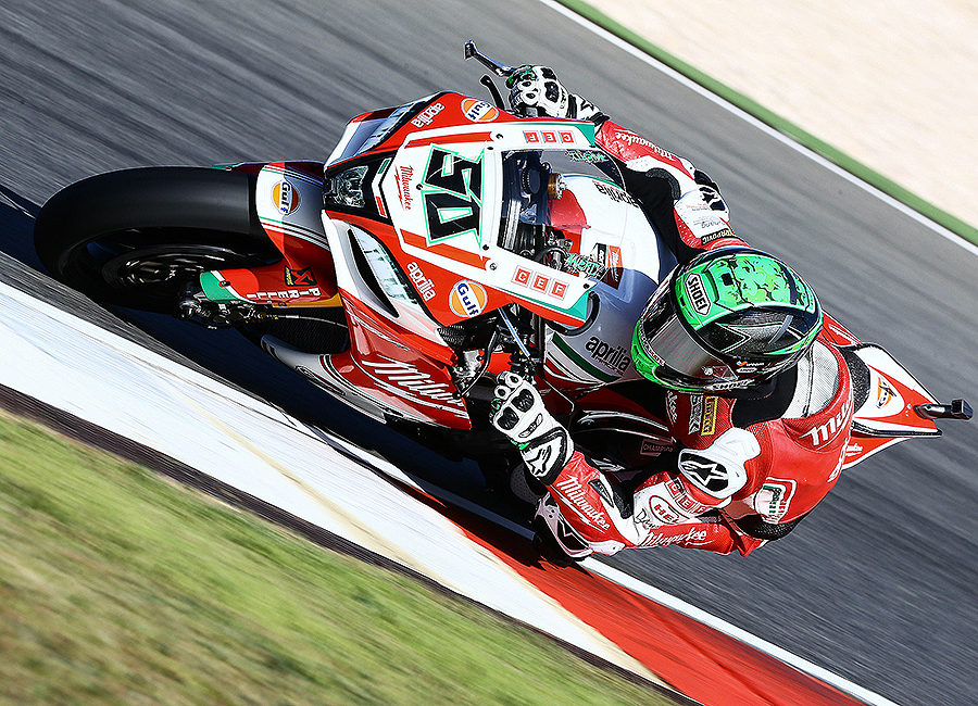 - MILWAUKEE APRILIAWorld SBK Team BRAND LIVERY