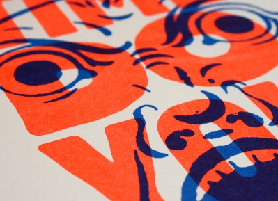 - BASH IT OUTRisograph Prints POSTERS