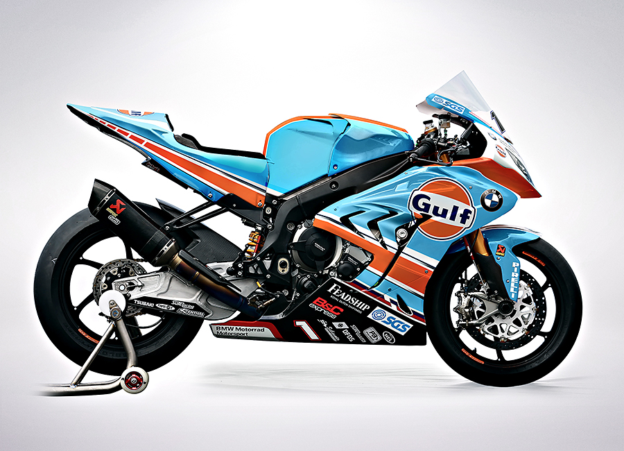- GULF BMWRoad Racing Team 2018BRAND LIVERY