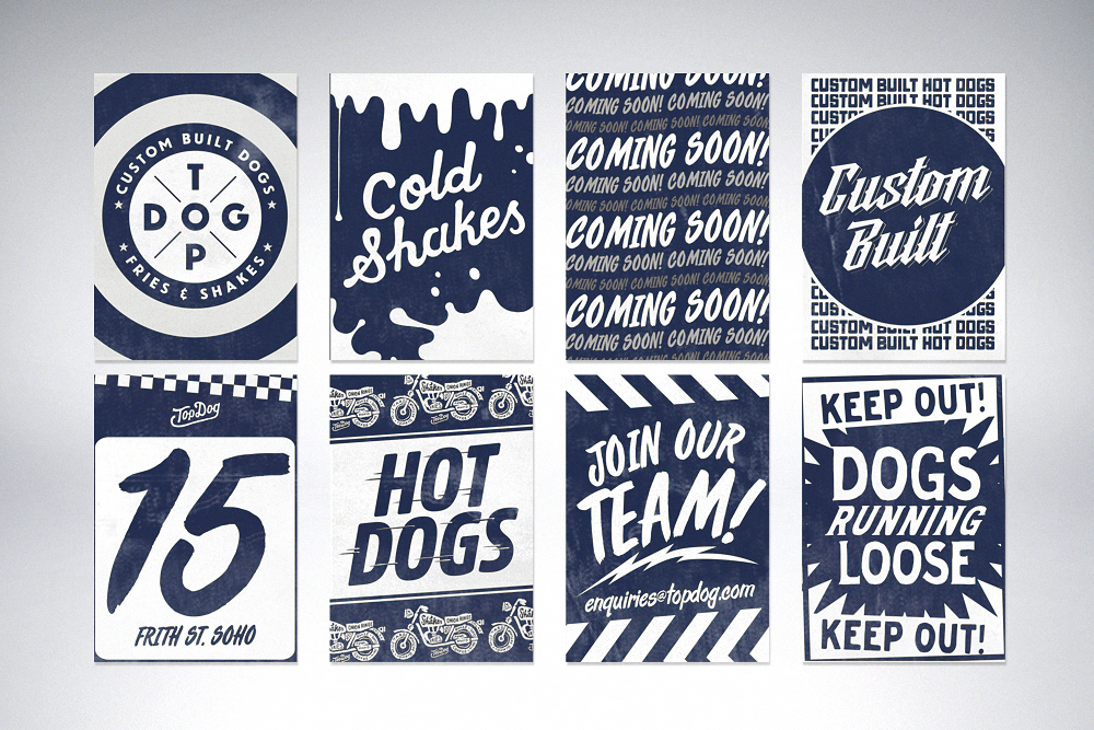 - TOP DOGSoho DinerBRAND IDENTITY