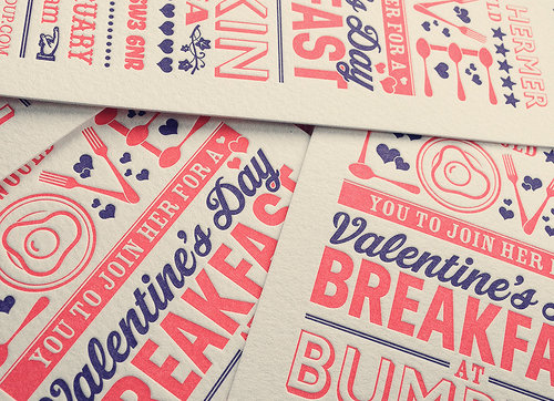 - BUMPKIN RESTAURANTSValentines BreakfastINVITATIONS