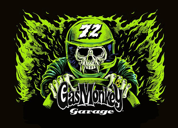 - GAS MONKEY GARAGENascarBRAND LIVERY