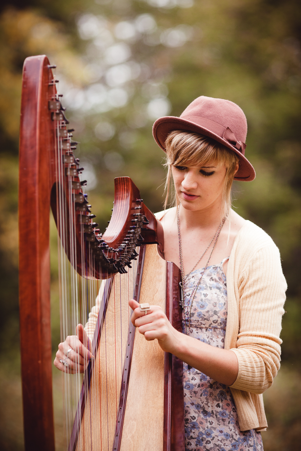 Central New Jersey Photographer Styled Photo Session with Harpists.jpg
