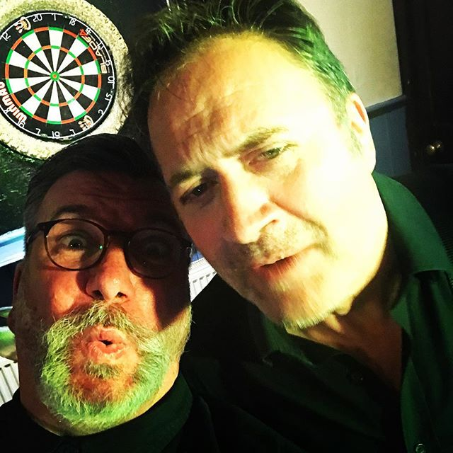#uncleslive supported by 70's classics, Darts at The Ship Inn in Keynsham. #bristolblues #keynsham #keynshammusicfestival