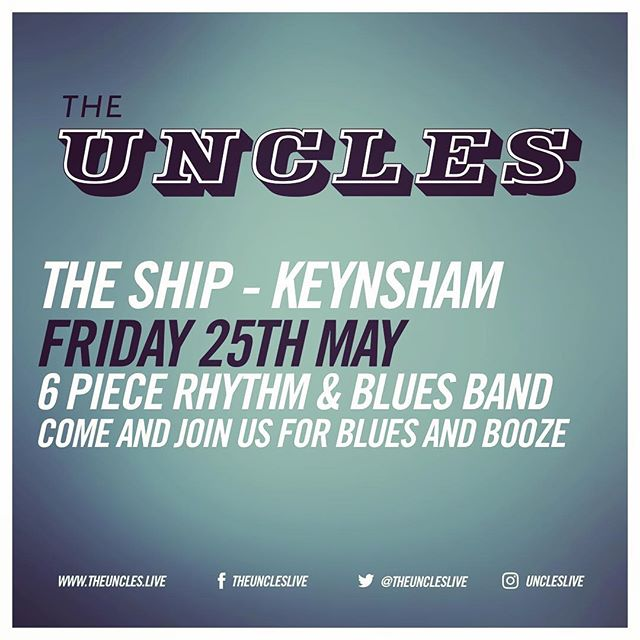 This is happening tonight at The Ship Inn in #keynsham Come and join us. #keynshammusicfestival #bristolblues #blues #uncleslive #rythmandblues #leeoskarharmonicas #bristolmusic