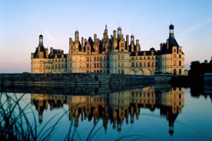 The Château de Chambord in The Loire Valley, France