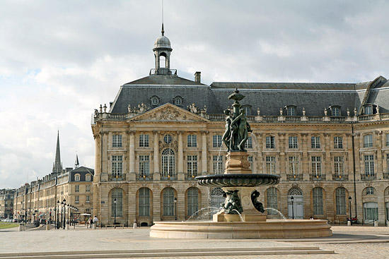 Bordeaux Place de la Bourse and Fountain of Three Graces | Bordeaux, France
