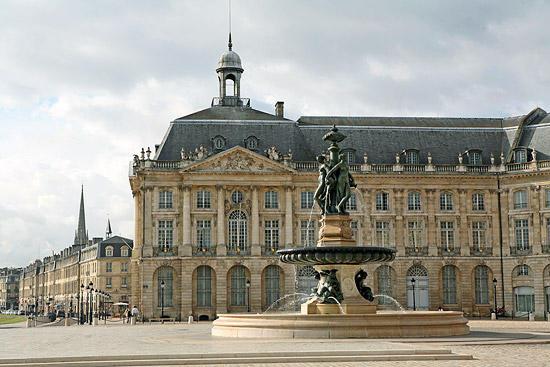 Copy of Bordeaux Place de la Bourse and Fountain of Three Graces | Bordeaux, France
