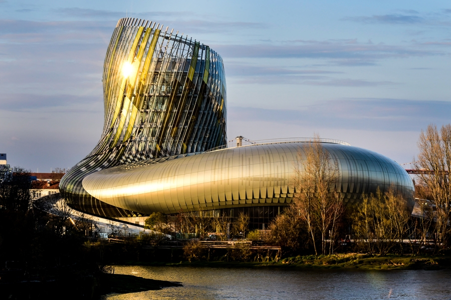 La Cite du Vin Bordeaux France