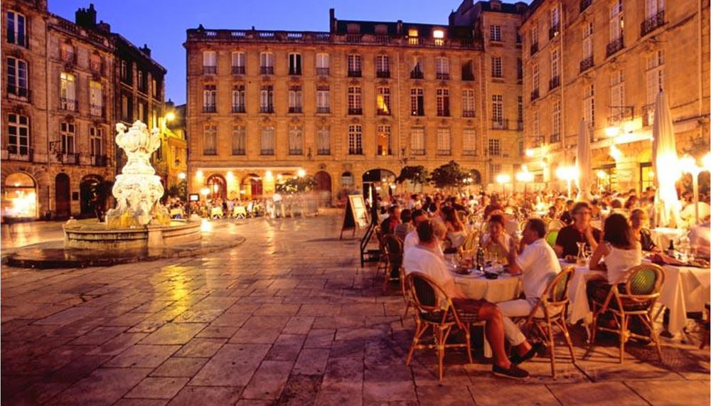 Place du Theatre Bordeaux, France