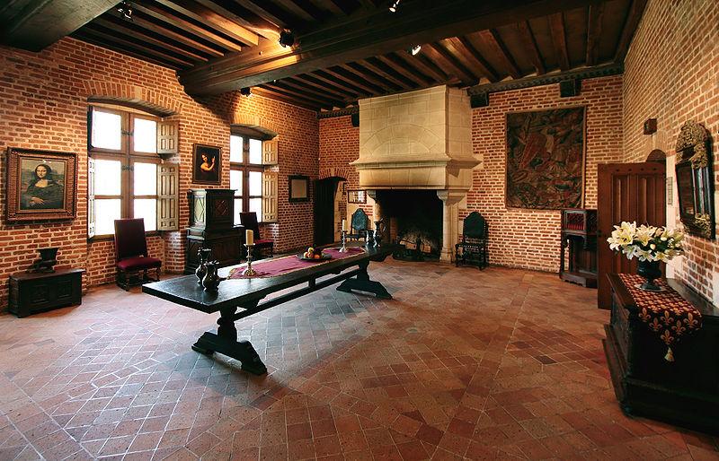 Leonardo Da Vinci residence Amboise, France
