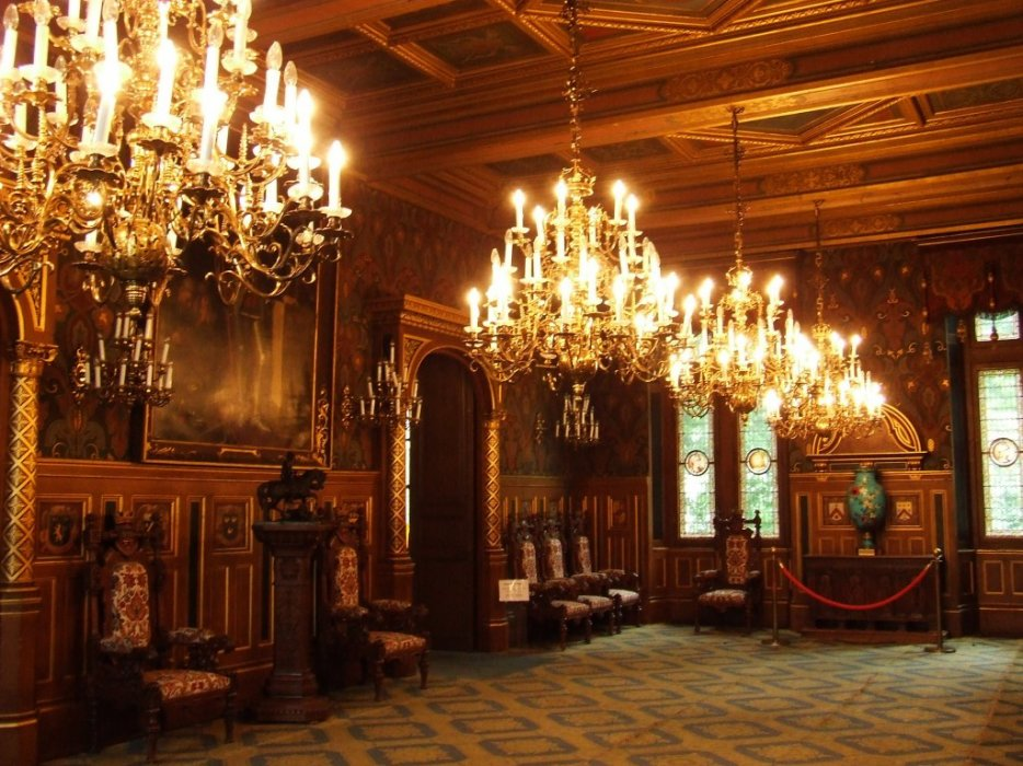 Inside Chateau Chambord France