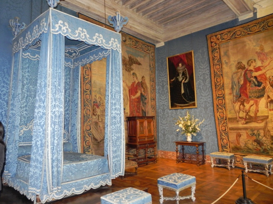Inside Chambord Castle Loire Valley France