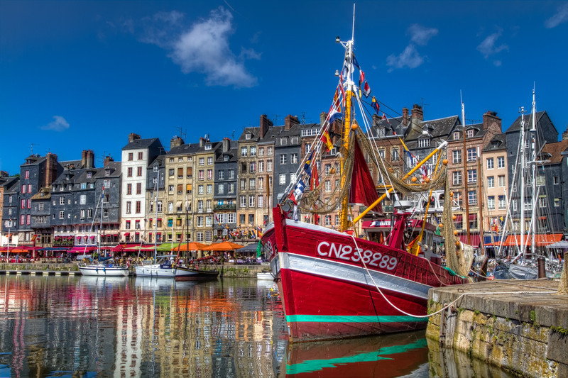 Copy of Honfleur Harbor, France