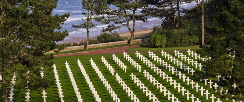 Copy of The American Cemetery in Normandy, France