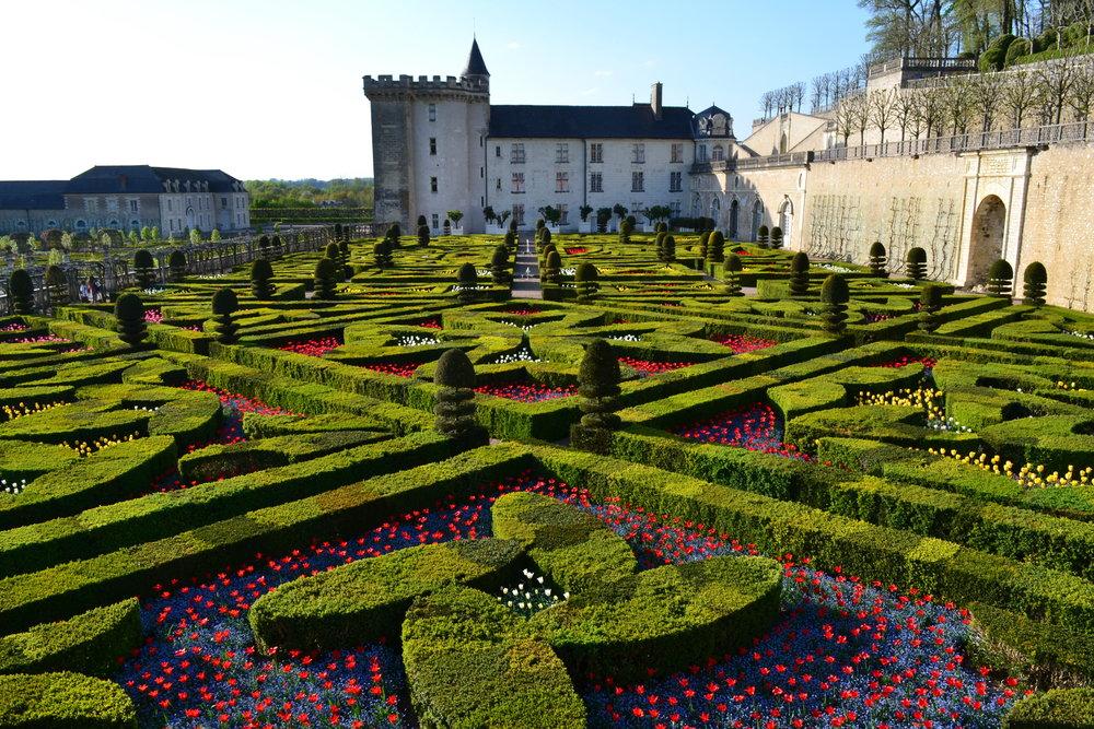 Villandry Gardens in France