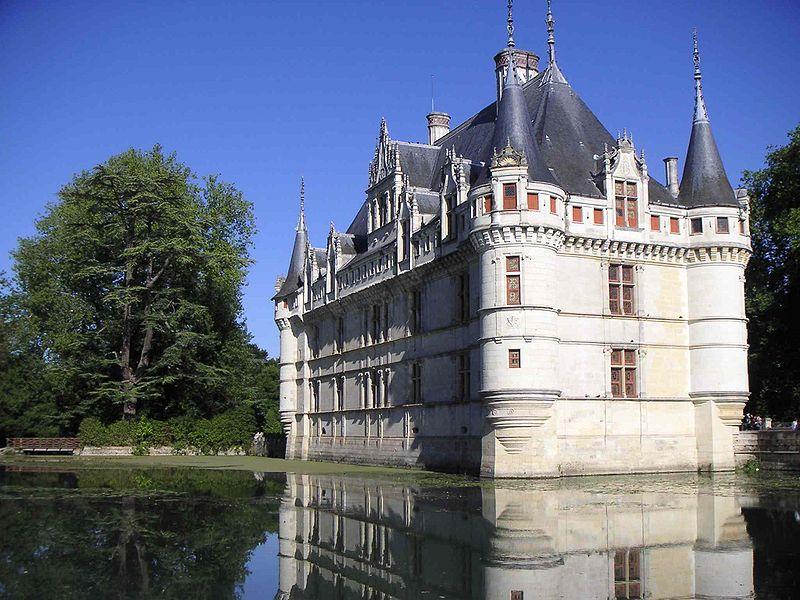Chateau d'Azay le Rideau France