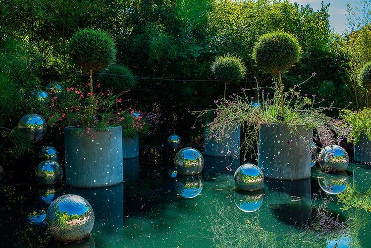 Garden festival at Chateau de Chaumont-Sur-Loire, France