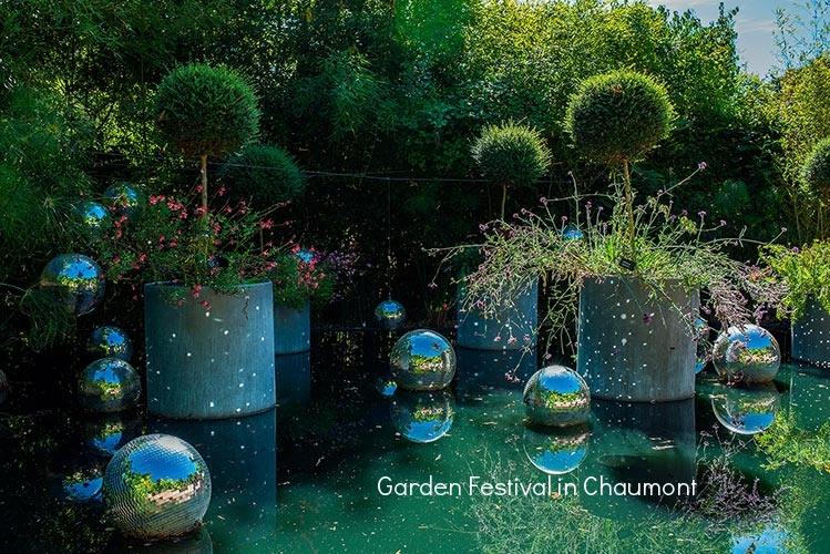 A yearly display of spectacular gardens takes place at this festival in Chaumont, one of the many extraordinary castles of this region.