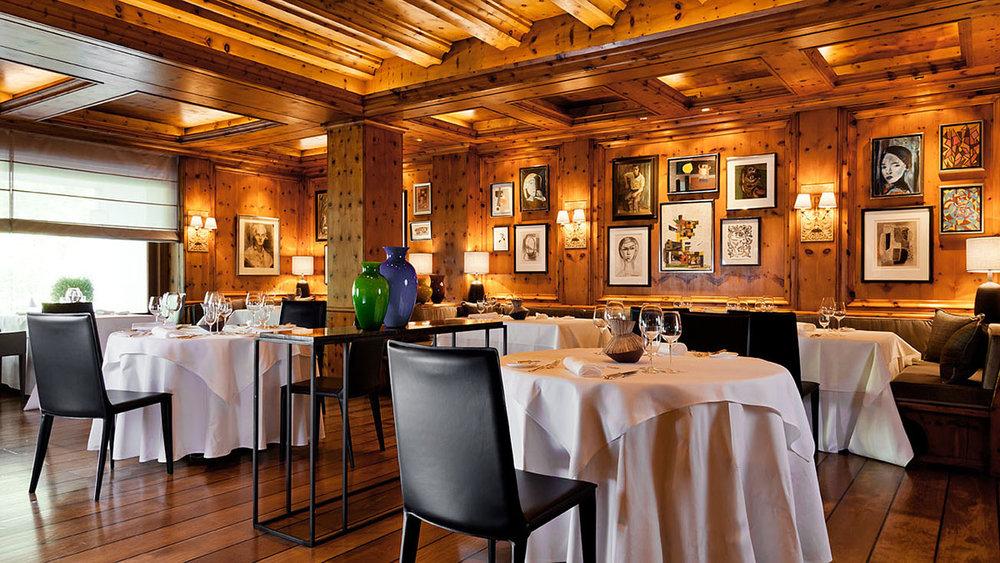 Dining at Althoff hotel am Schlossgarten