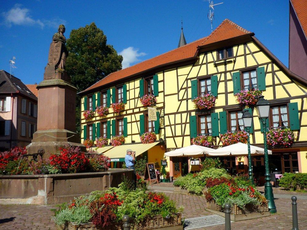 Ribeauville village