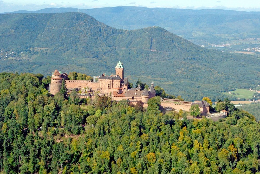 Chateau du Ht Koenigsbourg