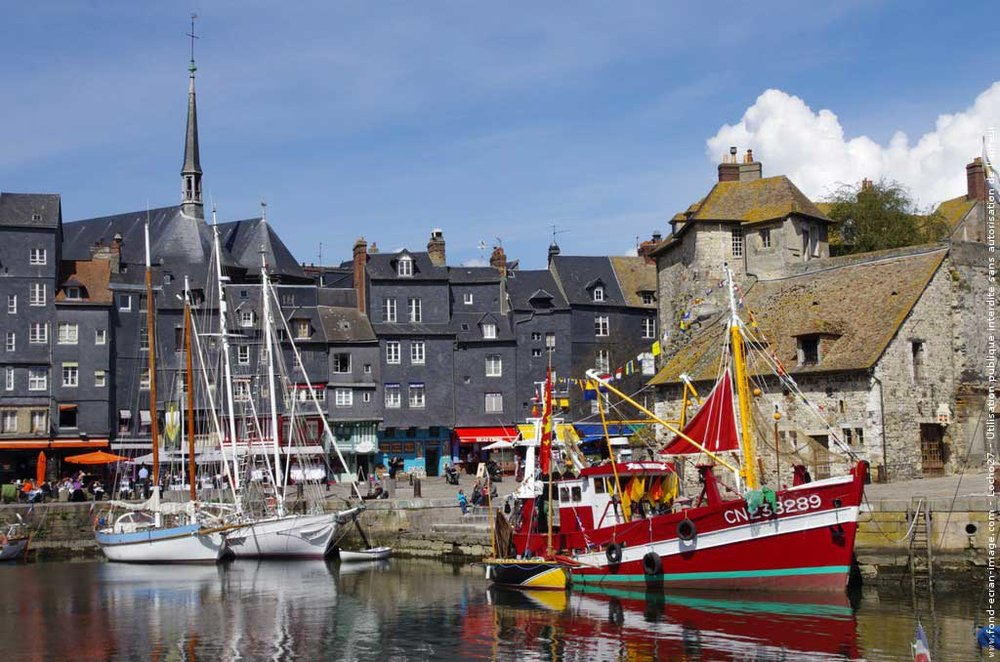 Copy of Honfleur, France
