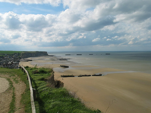Copy of D-Day Beaches in Normandy, France