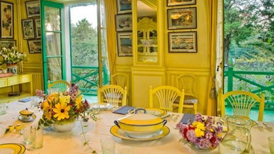 Inside the home of Claude Monet