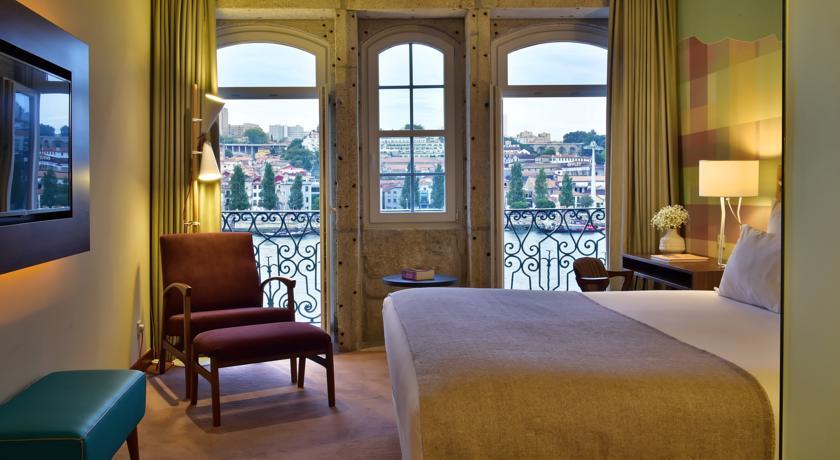 Hotel Room at Pestana Vintage Hotel in Porto, Portugal