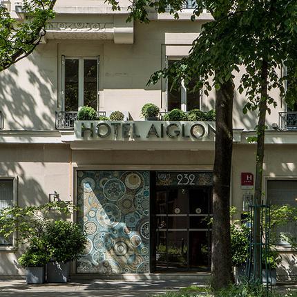 Exterior Facade - Hotel Aiglon