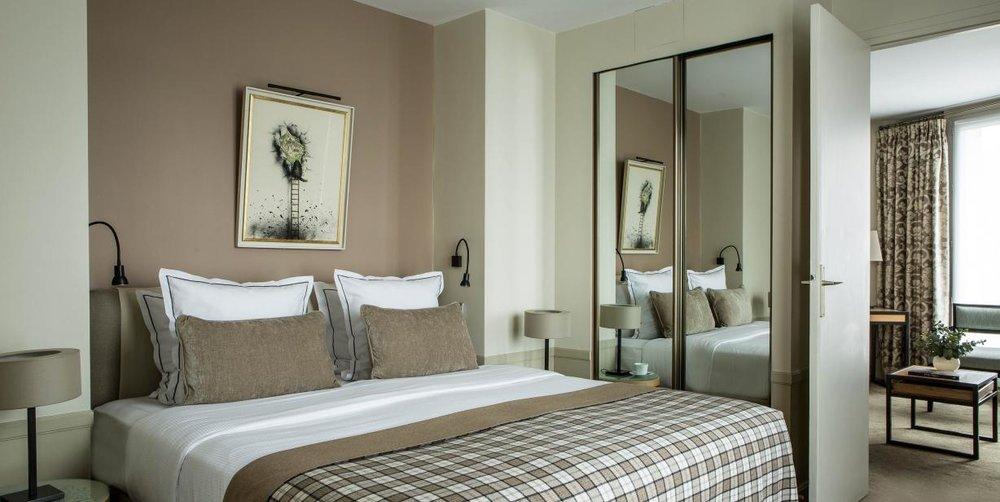 Hotel Room - Hotel Aiglon