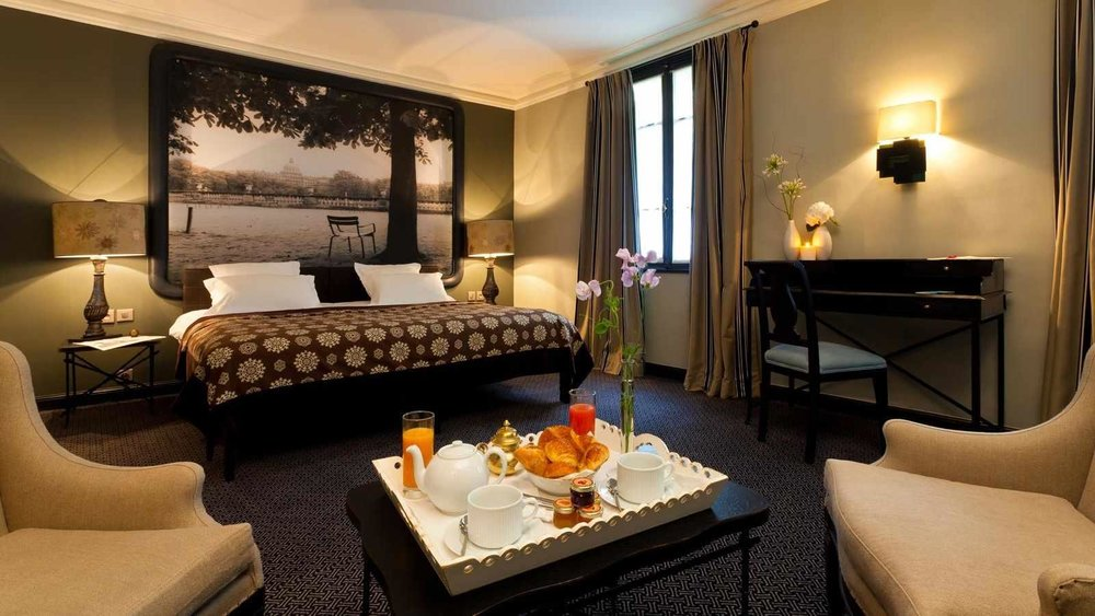Hôtel Fontaines du Luxembourg - Hotel Room