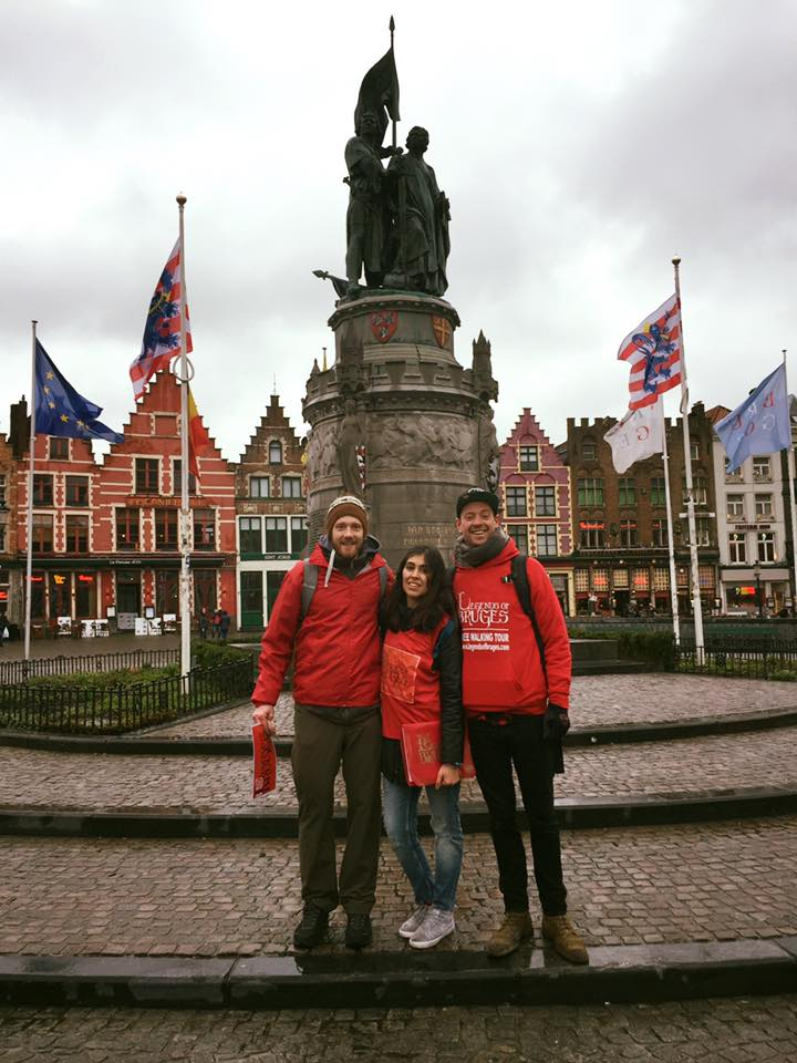 Free Walking Tours in the center of Bruges