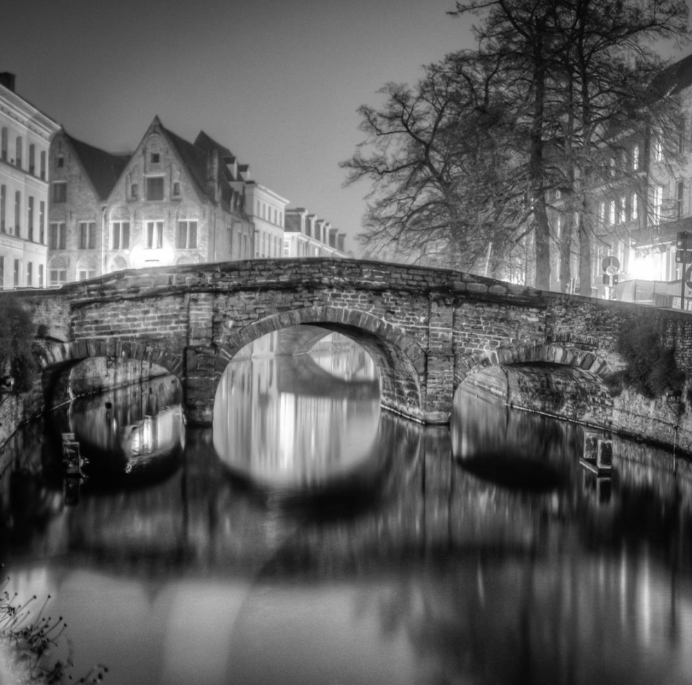Beautiful Bridge in Bruges