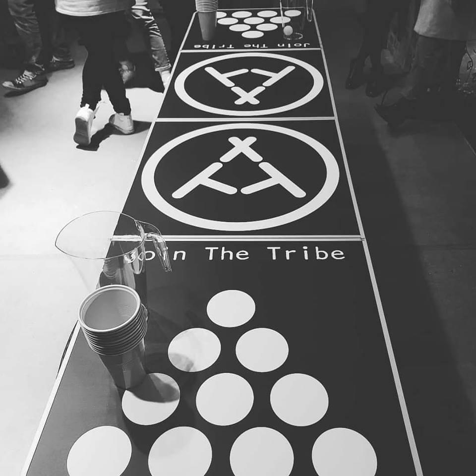 - BREWER V Brewer beer pong challenge