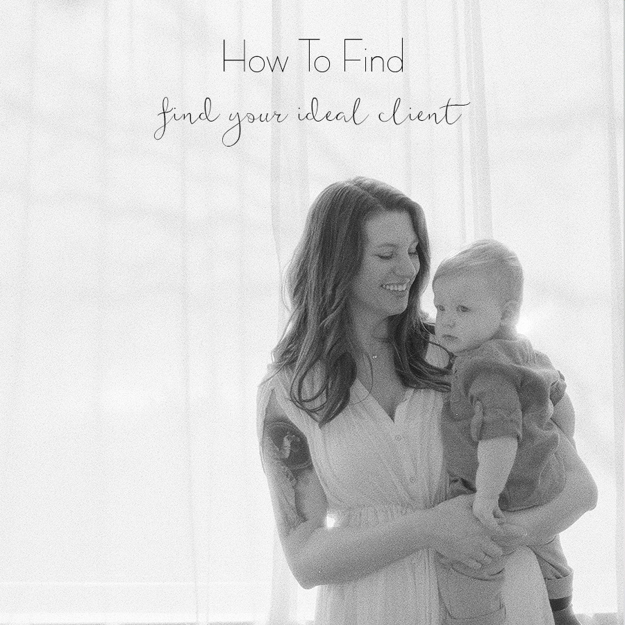 how to find your ideal client Business Tips for Photographers Sandra Coan Education