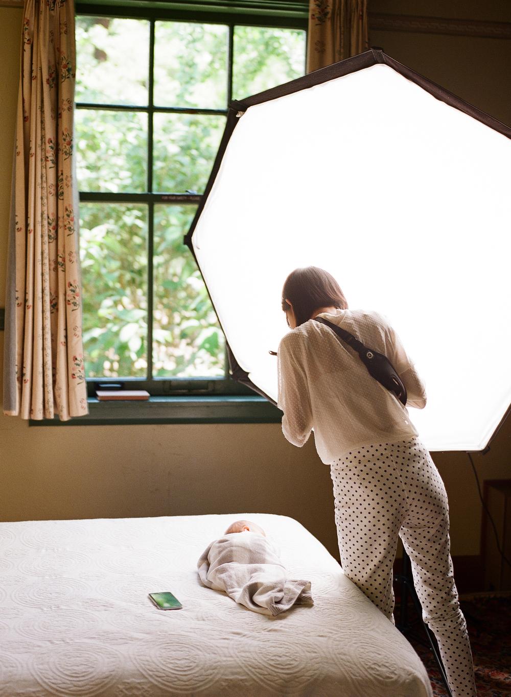 studio lighting for the film photographer by Sandra Coan