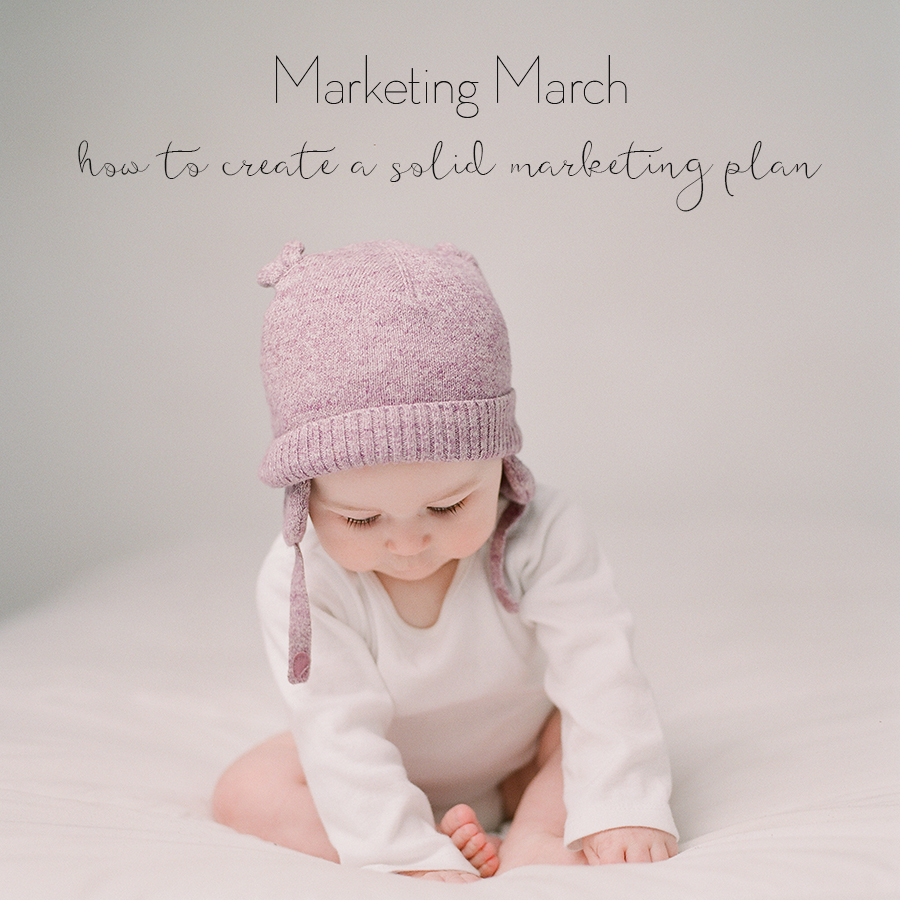 Sandra Coan Education for photographers How to create a marketing plan for your business
