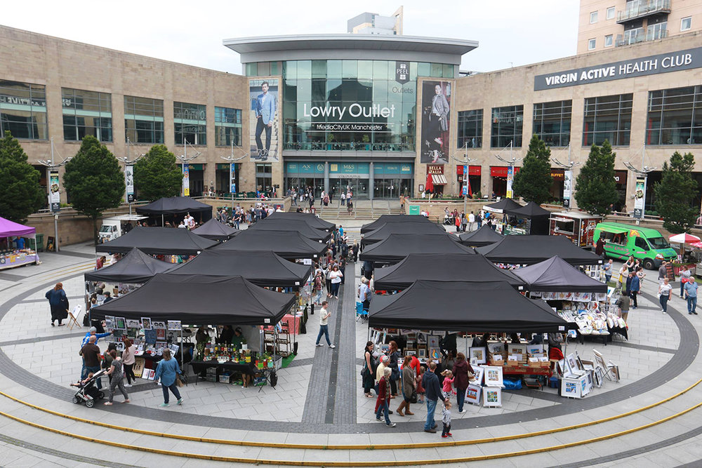 Lowry Outlet - Artisan Market Stalls