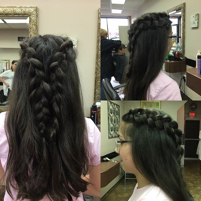 Beautiful braids done by Lindsay at our seguine location!  #lookgoodfeelgood #hairexpress #haironearth