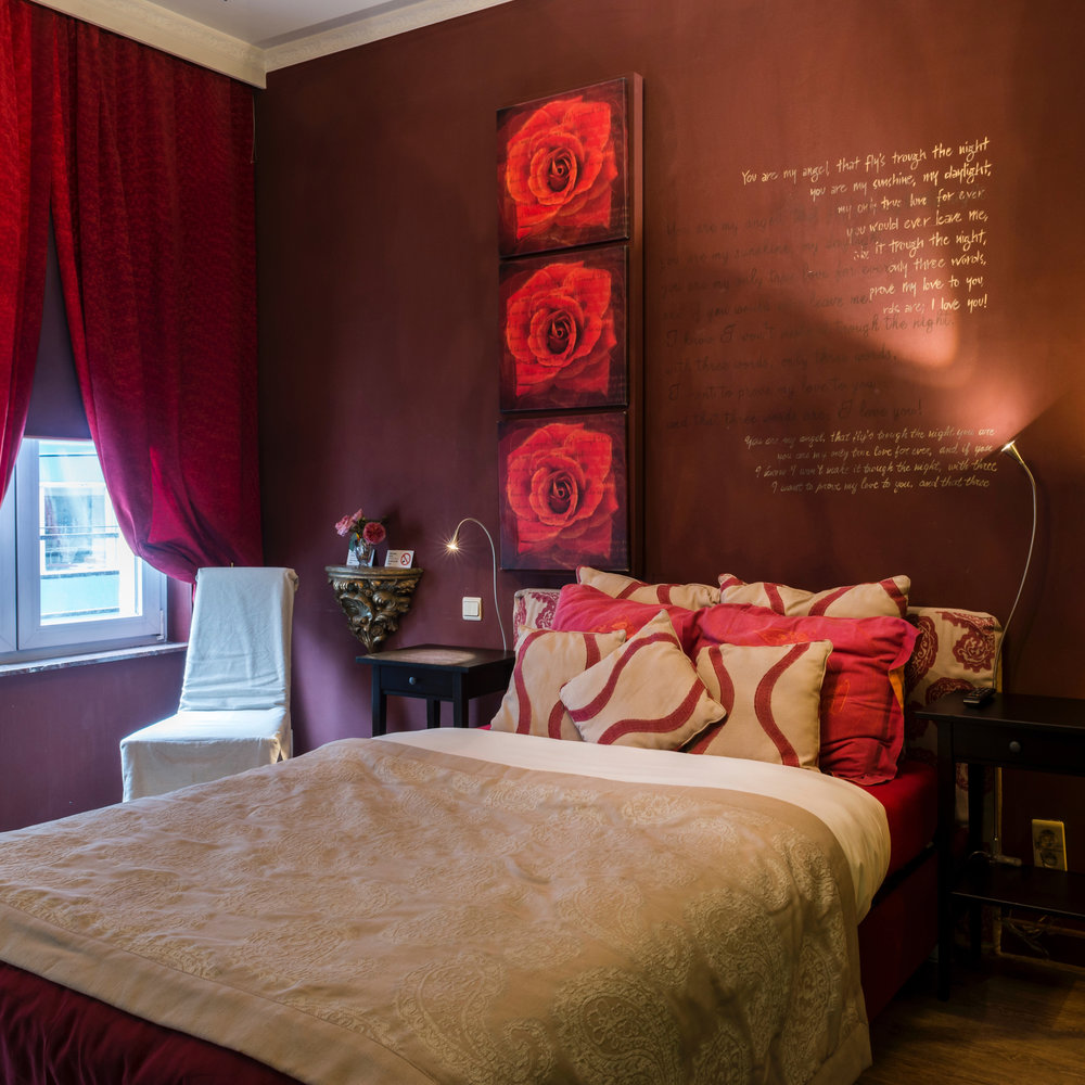 Valentine room -