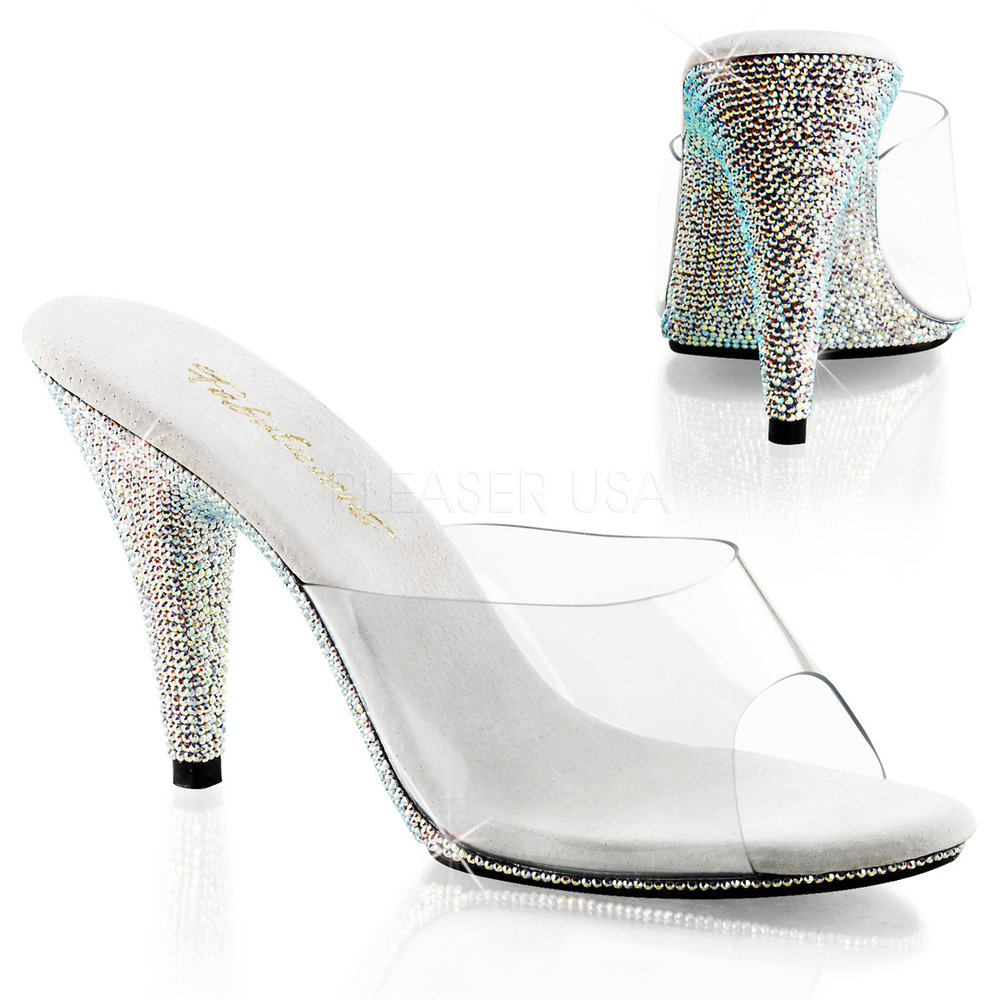 Diamante Posing Shoes UK