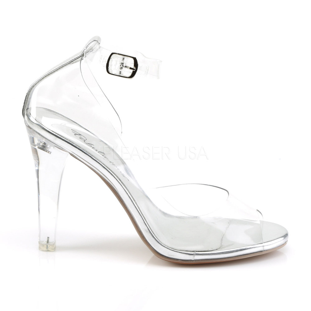 Clearly 430 Posing Shoe With Ankle Strap