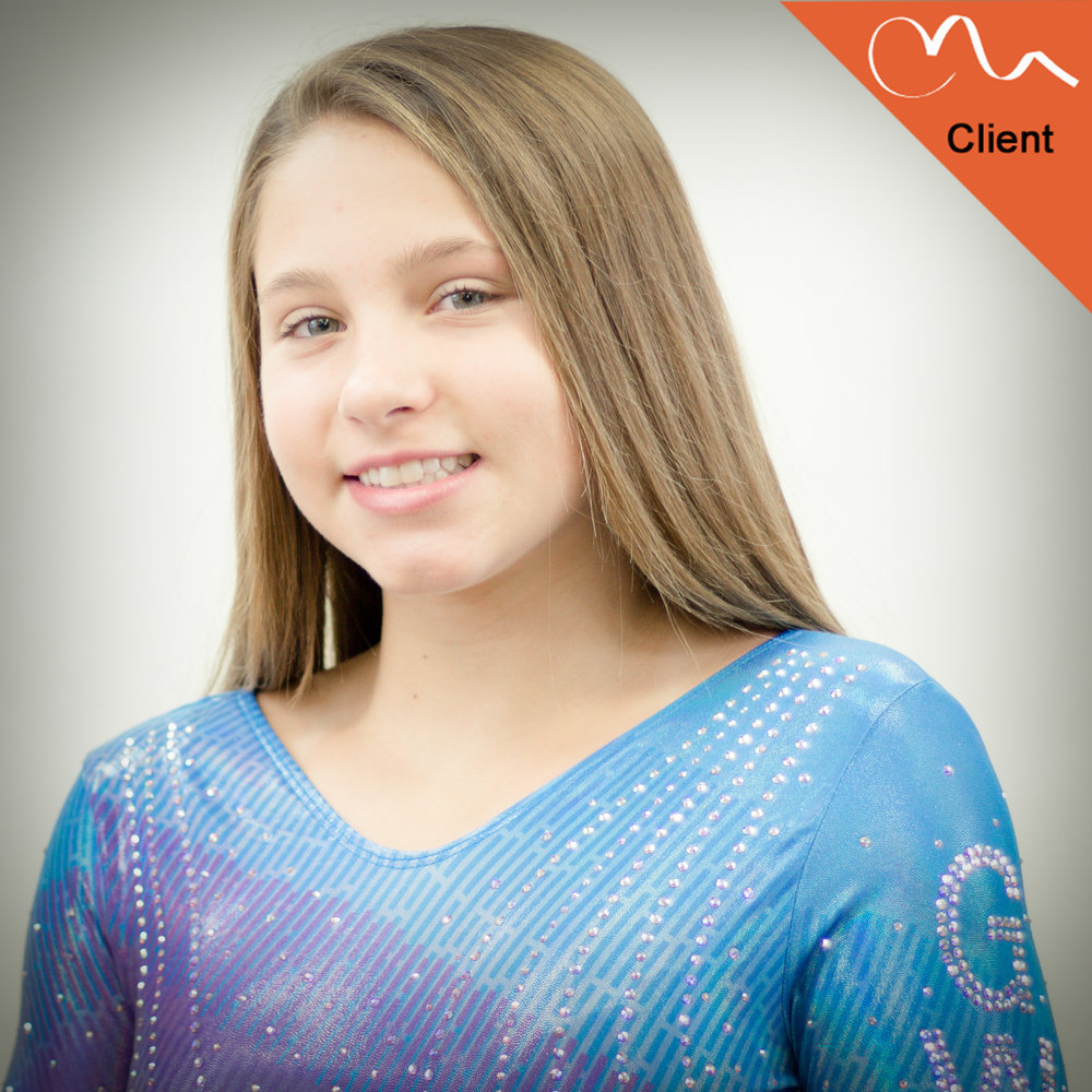 KAYLEE GIBSON - FULL OUT CLIENT  Gymnastics World of Ohio