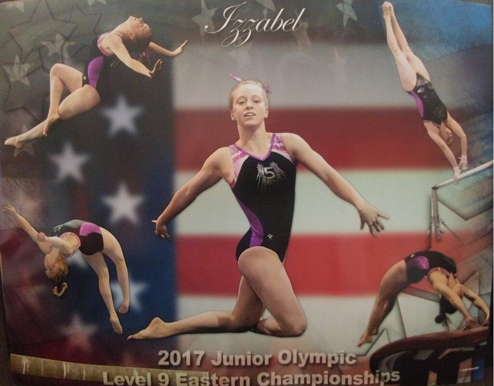Contact Me: - Izzygeig@gmail.comHOME GYMGymnastics World of OhioHEAD COACH:Jared Nun - Gymjar@yahoo.comGYM OWNER:Joan Ganim -JoanGanim@GymWorldOhio.com