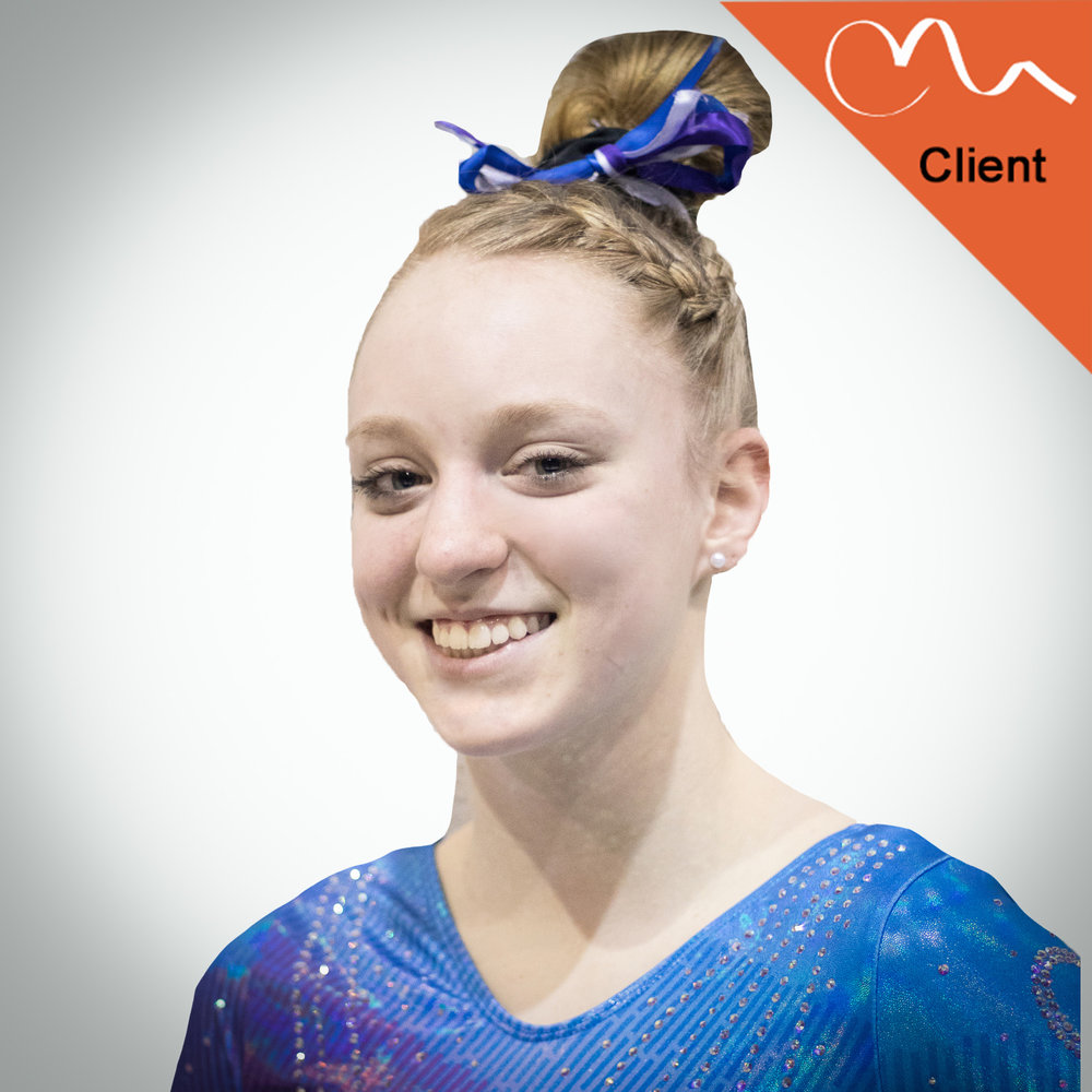 IZZABEL GEIG - FULL OUT CLIENT  Gymnastics World of Ohio