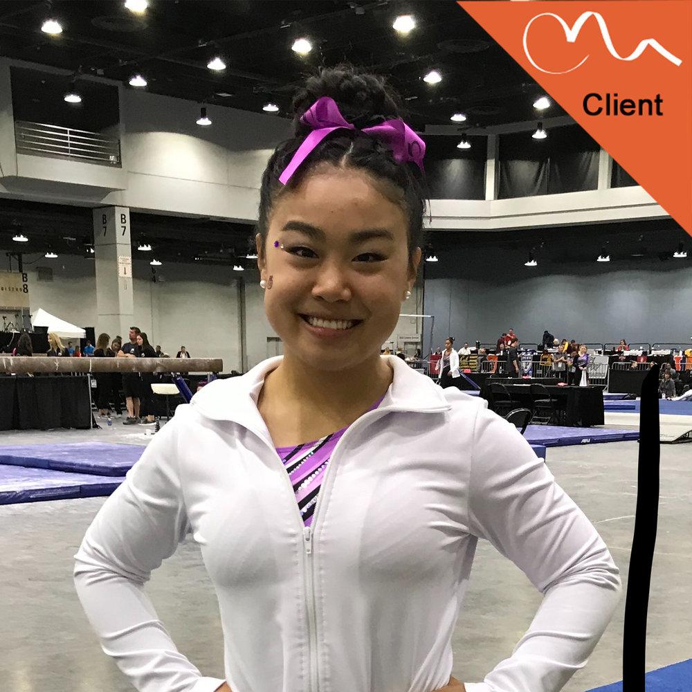 Suki Pfister  Set-10 Gymnastics