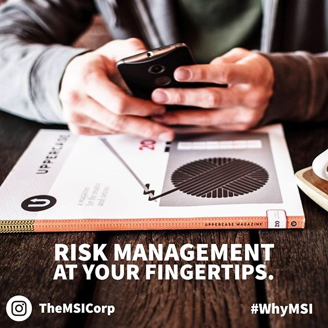 Getting a hold of RISK Management Made Profitable™ is easy. Solutions await: TheMSICorp.com - Tags: #CaptiveInsurance #insurance #risk #riskmanagement #riskmgmt #WhyMSI #insurancenews #business #finance #professionalservices #tax #taxlaw #taxes #risksolutions #privateinsurance #cic #nccia #IRS #smallbusiness #management